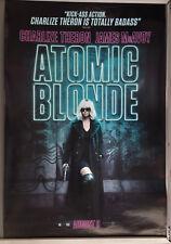 Cinema Poster: ATOMIC BLONDE 2017 (Main One Sheet) Charlize Theron
