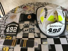 New High Eagle Fire Helmet,Badge,Wallet Badge and More.  Hi Temp Composite