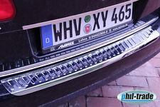 VW Passat 3C B6 Variant Ladekantenschutz Edelstahl Abkantung Stoßstange hinten