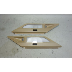 1995-2001 BMW E38 7-Series Rear Interior Lateral Reading Map Lights Sand Beige