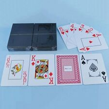 100% PLASTIC New Poker Size Good Playing Cards Excellent Free Shipping