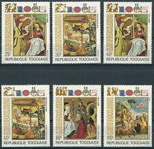 Togo - Weihnachten Satz postfrisch 1972 Mi. 954-959