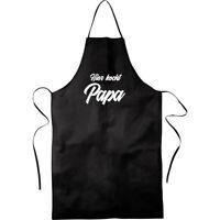 Hier kocht PAPA - Grillschürze Kochen Grillen Kochschürze FUN-Geschenk