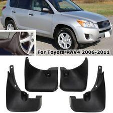 4pc Car Front Rear Mud Flap Guard Splash Mudguards Set For Toyota RAV4 2006-2011
