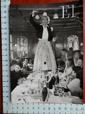 LIZABETH SCOTT EN CANNES ACTRIZ FOTOGRAFÍA ORIGINAL AÑO 1954