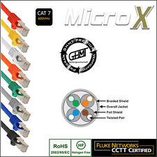 Ethernet CAT 7 LAN Network Cable Patch Lead RJ45 S/FTP PIMF 0.25m - 30m lot