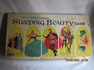 Vintage 1958 Walt Disney Production Sleeping Beauty Game Parker Bros