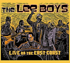 LEE BOYS-LIVE ON THE EAST COAST-IMPORT CD WITH JAPAN OBI F30