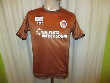 """FC St.Pauli Original Kinder Jubiläum Wende Trikot 2010/11 """"Ein Platz .."""" Gr.164"""