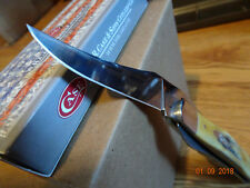 """CASE XX POCKET KNIFE 4 1/4"""" CLOSED RUSSLOCK BONE STAG 6.5 HANDLE S.S BLADE 65303"""