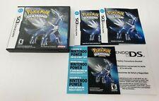Pokémon Diamond Version Case, Manuals & Inserts *NO GAME* Very Good