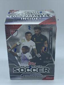Topps Major League Soccer Trading Card Blaster Box (2021)