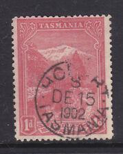 Postmark: Hobart S Tasmania On 1d Pitorial .