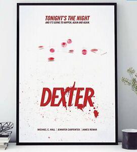 2006 Dexter - TV Series Poster Print   - Home DecorWall ArtPicture