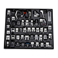 48pcs/Set Sewing Machine Presser Feet Kits Accessories Tools for Brother, Singer