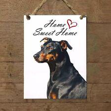 PINSCHER Home Sweet home mod1 Targa cane piastrella ceramic tile dog