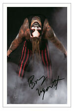 More details for bray wyatt signed autograph photo gift signature print wwe wrestling the fiend