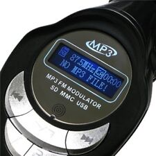 Wireless MP3 Player LCD FM Transmitter Modulator Car Auto Kit USB Charger MMC SD