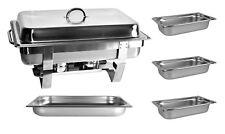 Chafing Dish Speisewärmer GN1/1+3x GN1/3 65mm  Warmhaltegerät Warmhaltegerät