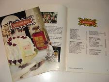 Amaretto di Saronno Italian Liqueur Cook Booklet 1980 Cook With Love