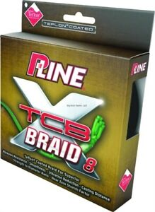 P-Line PXB8150-15 XTCB 8-Carrier Braided Line 15lb 150yd Green