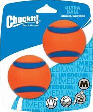 Chuckit! Ultra Rubber Ball Dog Toy, Medium 2 pack
