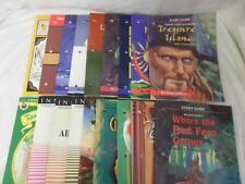Lot of 18 Grade School Literature Study Guides, Lesson Plans, Newbery,Classics