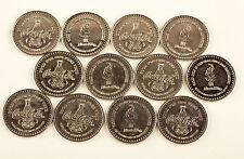 1996 Atlanta Olympics Coca Cola Coke Coin Token - 12 Coins (1 Dozen)
