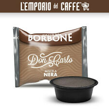 600 Capsule Cialde Caffe Borbone Don Carlo Miscela Nera Compatibili A Modo Mio