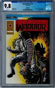 ETERNAL WARRIOR (Valiant) #1 - CGC Graded 9.8 - White Pages - Gold - Embossed