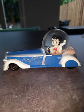 Extremely Rare! Betty Boop in Car Figurine Globe Statue
