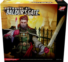 Dungeons & Dragons D&D Betrayal at Baldur's Gate, Boardgame, New by Hasbro, Eng