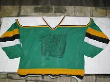Men's Vintage ATHLETIC KNIT One of a Kind Green #63 hockey jersey size XL/TG