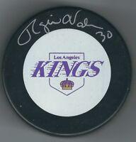 Autographed ROGIE VACHON Los Angeles Kings  Hockey Puck - w / COA