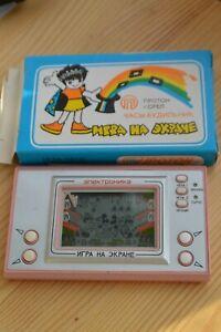 Game&Watch Nintendo Mickey Mouse clone Soviet Elektronika