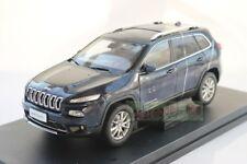 1/18 China New Jeep Cherokee Car Model Diecast blue