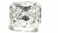 0.76ct H Color VVS2 Clarity Radiant Excellent Cut Diamond.Engagement ring Gift