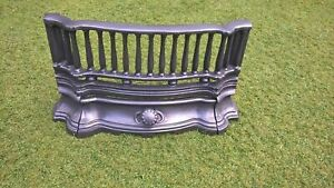 FIREPLACE BARS FIRE FRONT FIREPLACE FRET CAST IRON REPLACEMENT PART