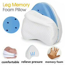 Memory Foam Leg Pillow Cushion Knee Support Pain Relief Washable Cover AUBO AU