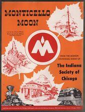 Monticello Moon 1947 Monon Centennial Show