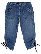 Gloria Vanderbilt Capri Jeans Womens Size 10 32x22 Mid Rise Stretch Denim