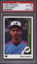 1989 Upper Deck Randy Johnson #25 Baseball Card