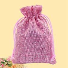 3x Drawstring Linen Pouch Pendulum Bag Jewelry Bag Halloween Gift Candy Bag