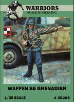 Warriors 1:35 Waffen SS Grenadier Resin Figure Kit #35295
