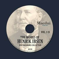 The works of Henrik Ibsen (1911-12) – Vintage Collection 13 ebooks on 1 DVD