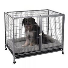 Dog Crate Indoor Cage Keeping Your Dog Safe Secure in Stressful Situations