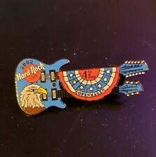 Hard Rock Cafe Pin Copenhagen - Blue Doubleneck with Eagle - (#12685) - 2002
