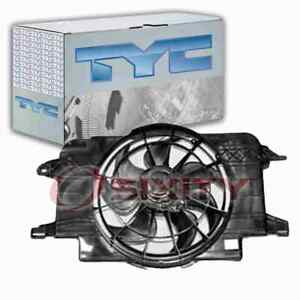 TYC Dual Radiator & Condenser Fan Assembly for 1994-2002 Saturn SC1 Belts gh