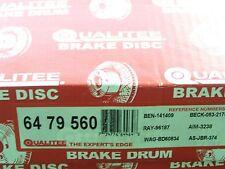 Qualitee Italian R79560 Front Disc Brake Rotor Set fits Toyota Van