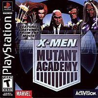 X-Men: Mutant Academy Greatest Hits (Sony PlayStation 1, 2003)PS1 Game & Manual